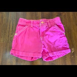 Carters girls shorts - size 5
